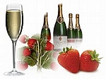 Champagne & Stawberries Scented Products